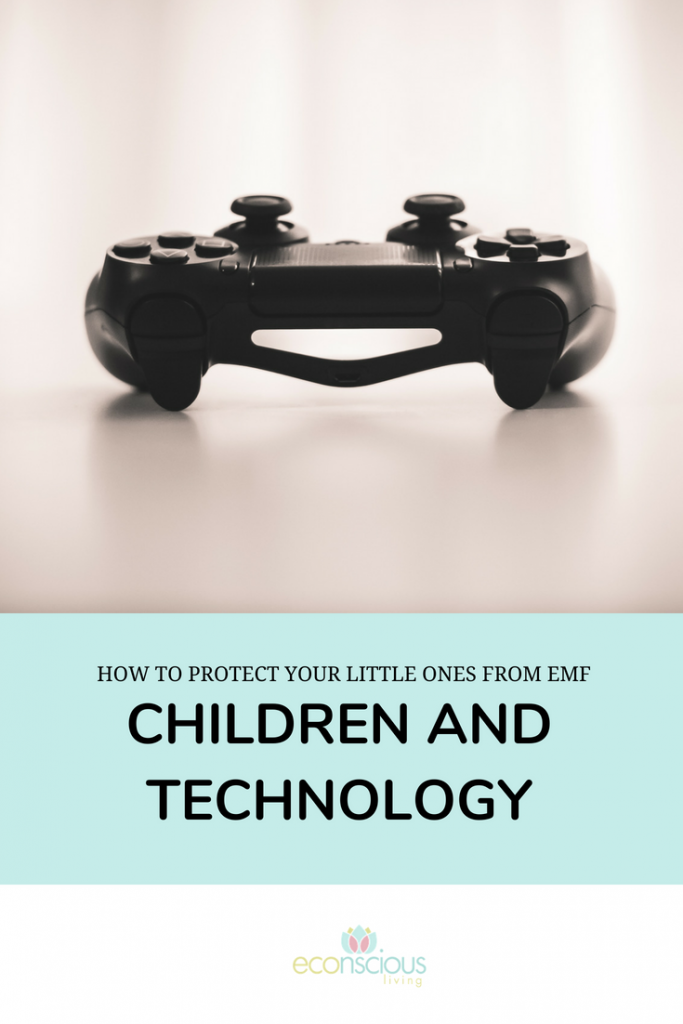 How to protect your little ones from EMF: Children and Technology