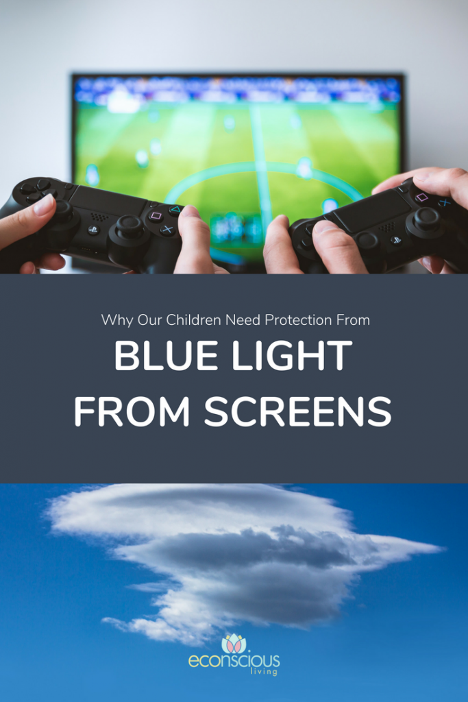 Why Our Children Need Protecting From Blue Light From Screens