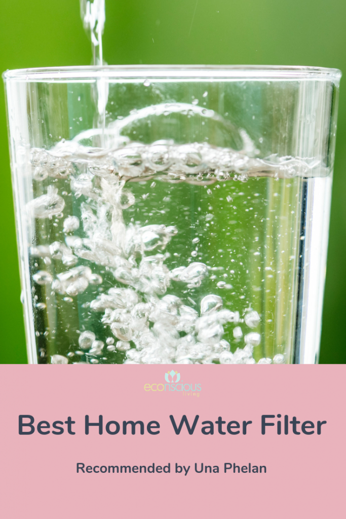 The Best Home Water Filter Pinterest Graphic