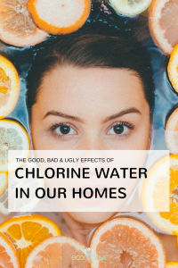 Chlorine Water in Our Homes Pinterest graphic