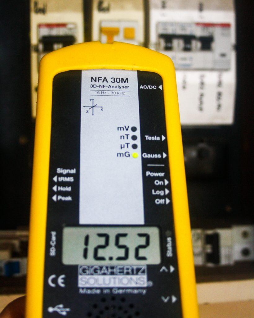 EMF testing kit tool