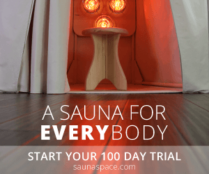 SaunaSpace 100 day trial banner