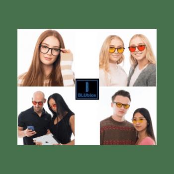 Blublox blue light blocking glasses