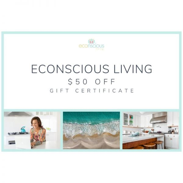 Econscious Living gift voucher