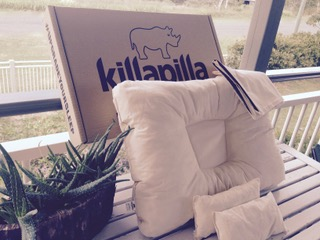 KillaPilla non-toxic pillow