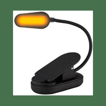 NoBlue Amber Book Light