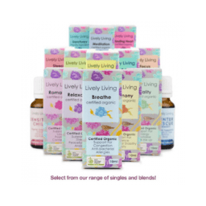Lively Living organic essential oils