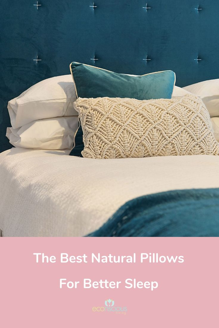 Pin The Best Natural Pillow for Better Sleep to Pinterest