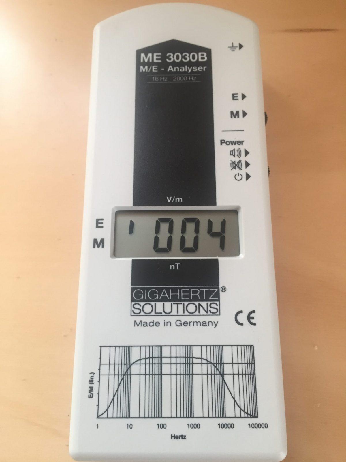 Gigahertz EMF Meter