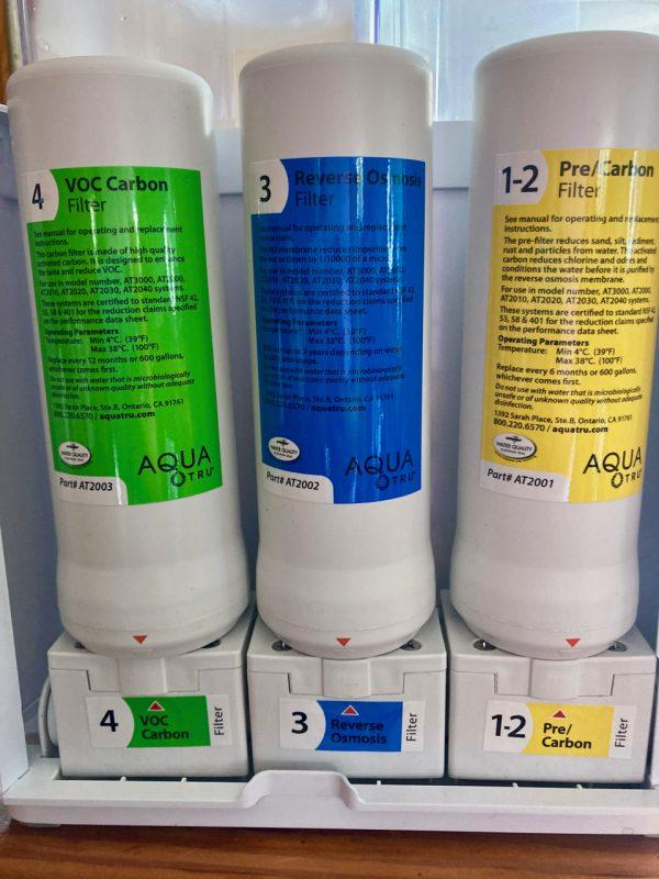 Aquatru water filter
